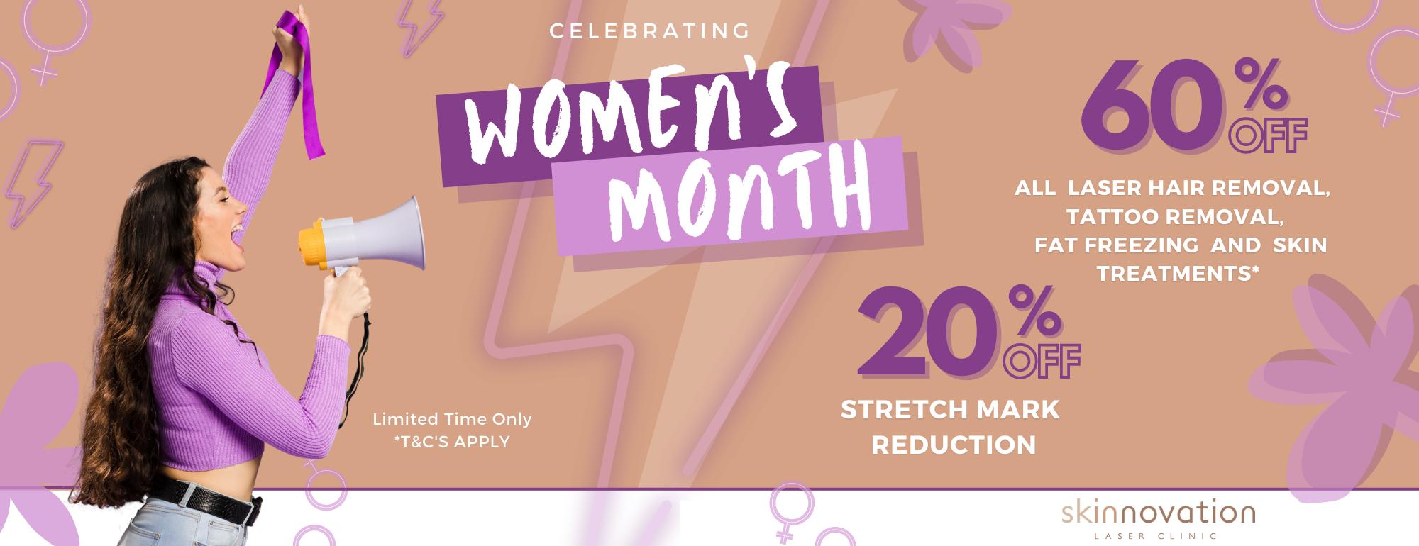 BANNER SITE Women's month